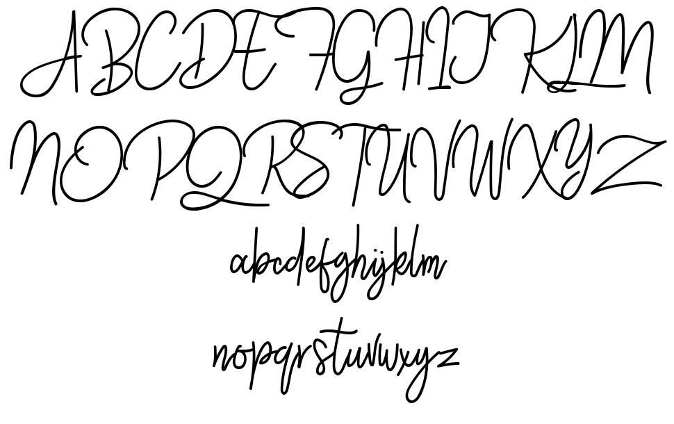 Westey font