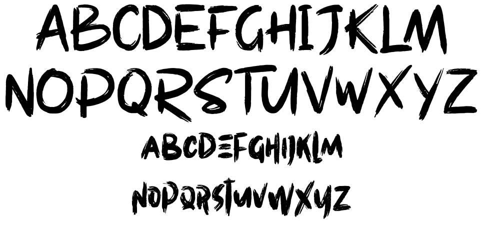 Westpart шрифт