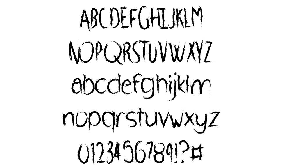 Whipped Scream font