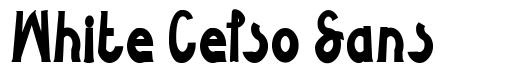 White Celso Sans