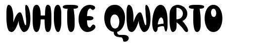 White Qwarto