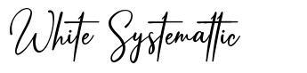 White Systemattic
