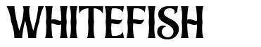 Whitefish font