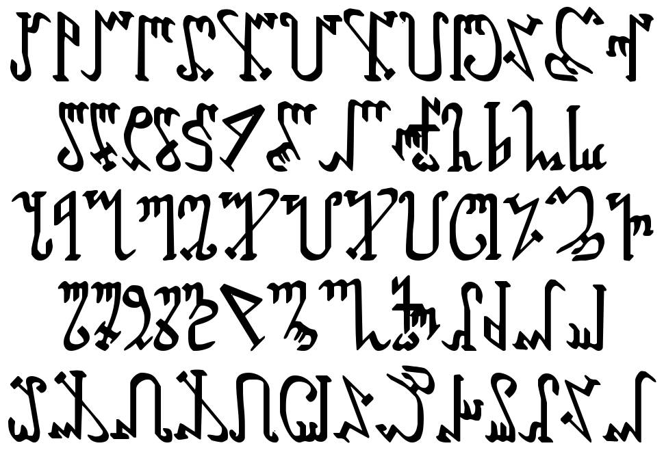 Wiccan Ways font