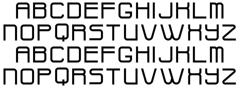Widges font