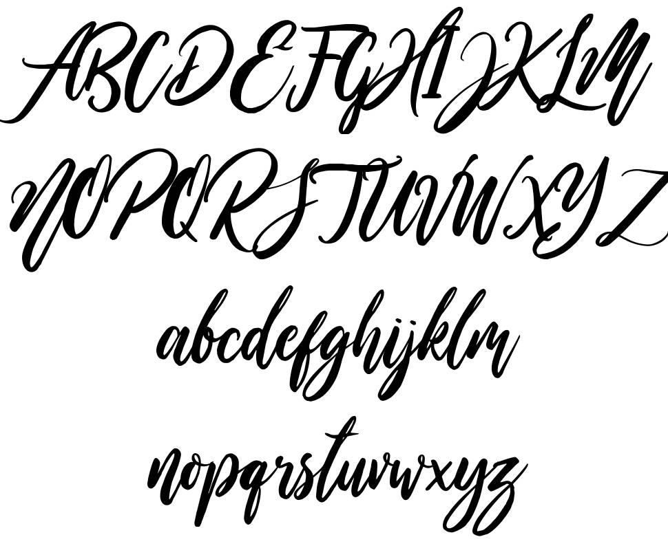 Wild Ones font