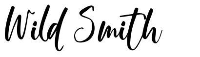 Wild Smith font