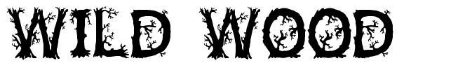 Wild Wood czcionkę
