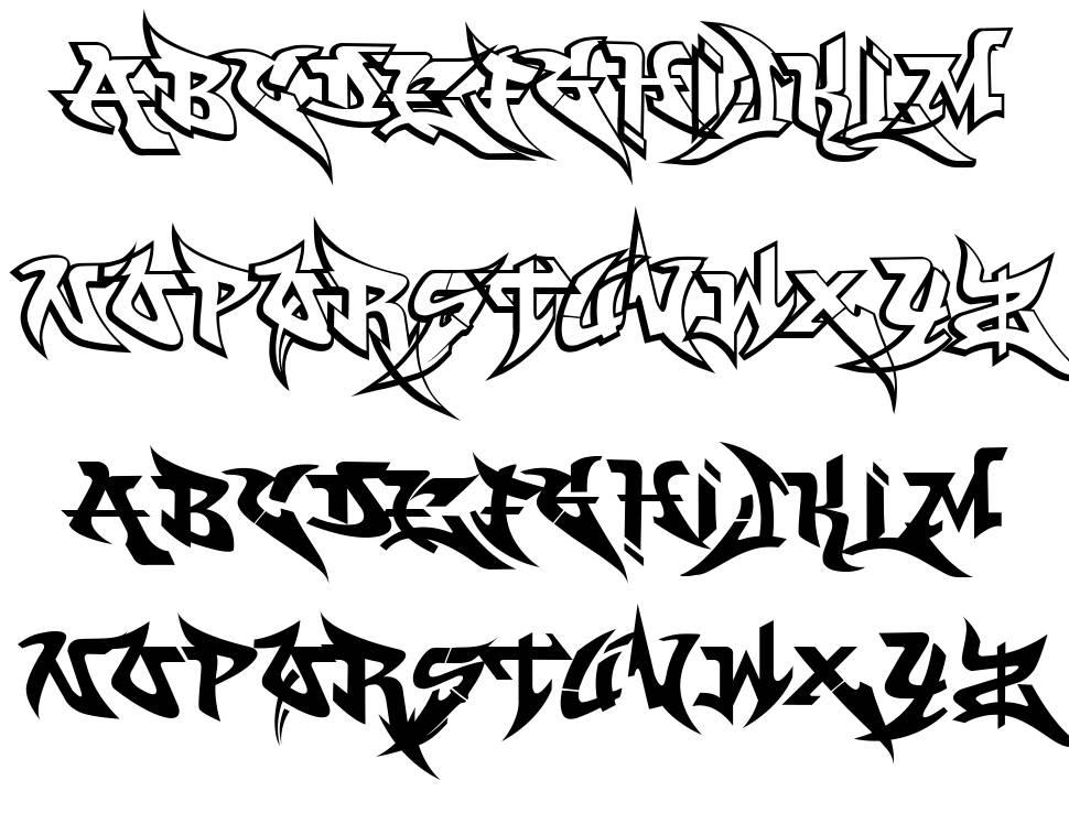 WildStyle 字形