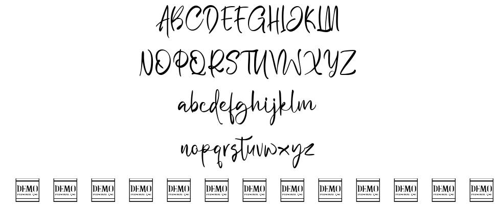 Wilgaty Smooth font