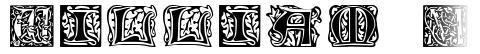 William Morris Initials