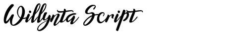 Willynta Script