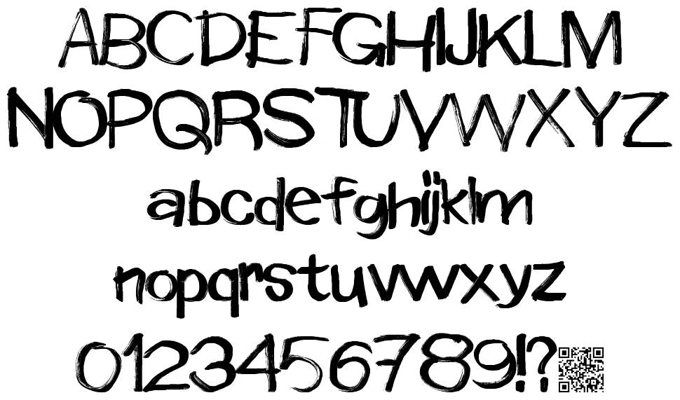 Window Markers font