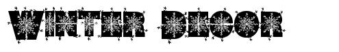 Winter Decor font