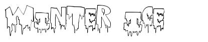 Winter Ice font