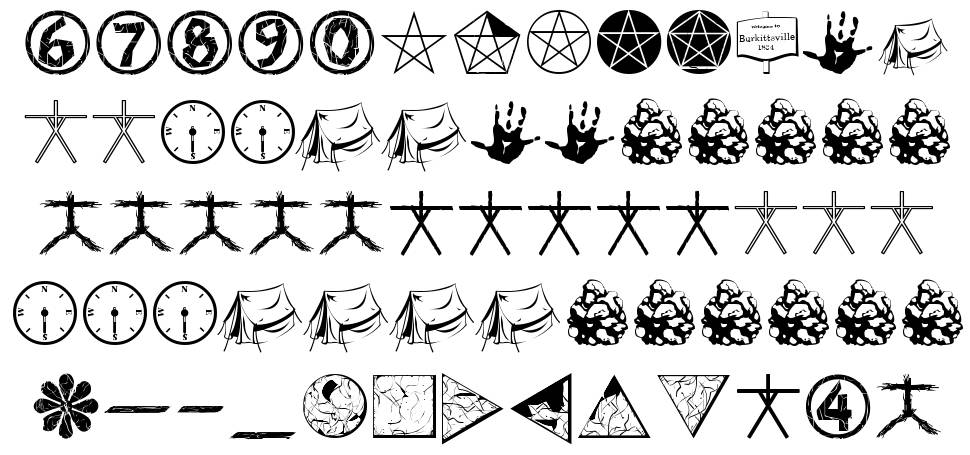 WitchDings font