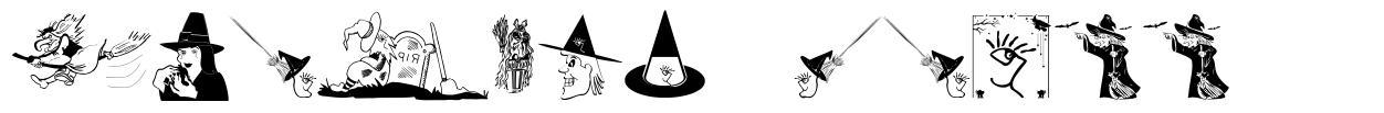 Witches Stuff czcionkę