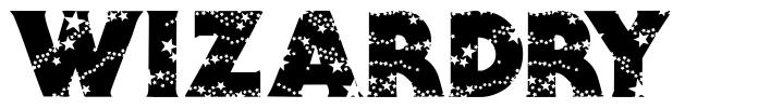 Wizardry font