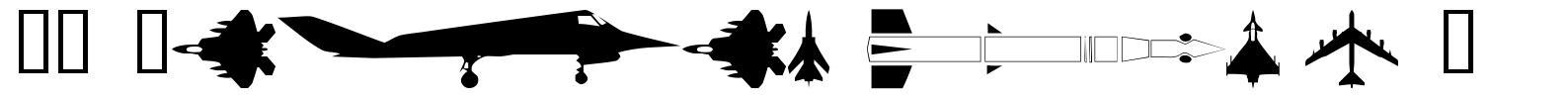 WM Military 1 font