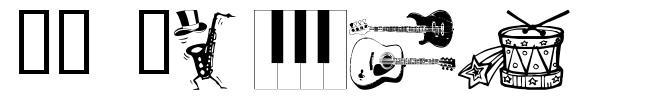 WM Music フォント