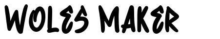 Woles Maker フォント