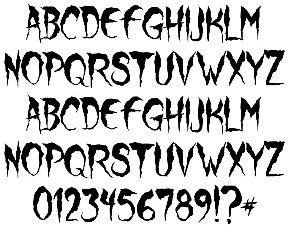 Wolf Moon font