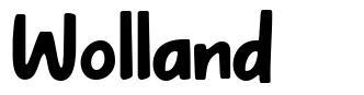Wolland fonte