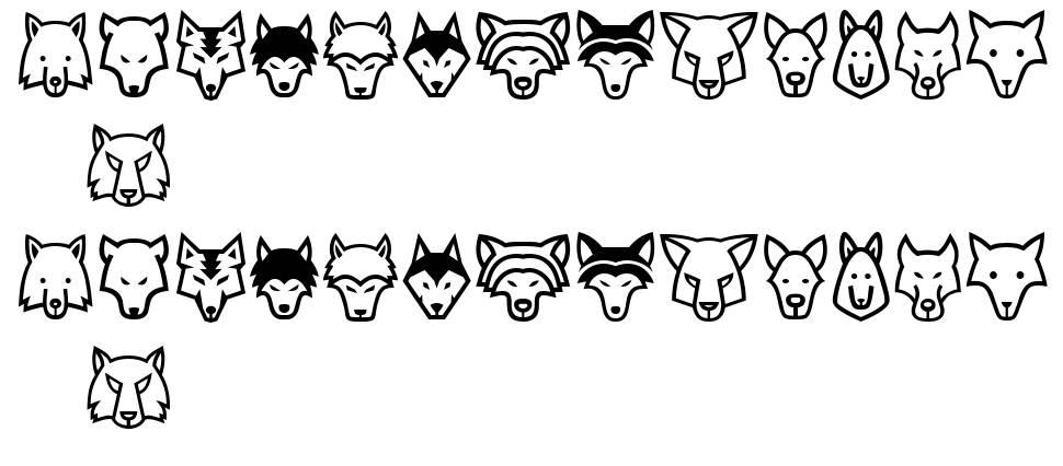 Wolves font