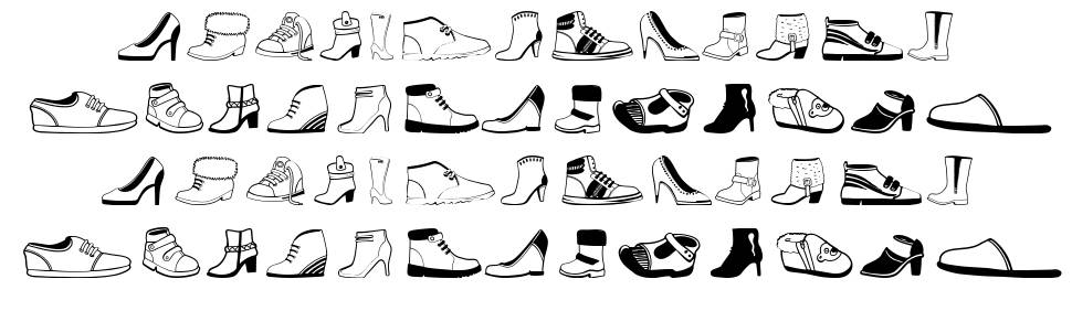 Women And Shoes font