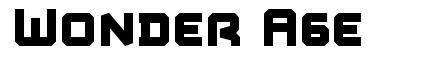 Wonder Age шрифт