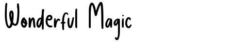 Wonderful Magic