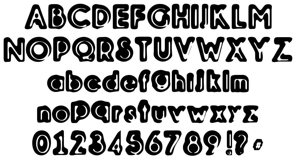 Woodcutter Relieve font