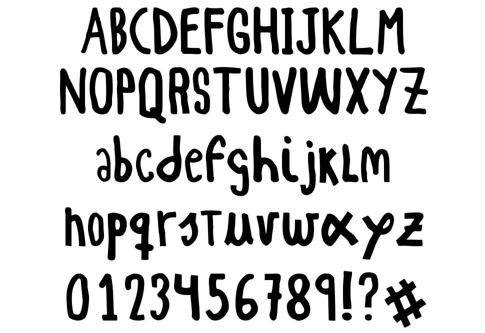 Woodcutter Simple Font font