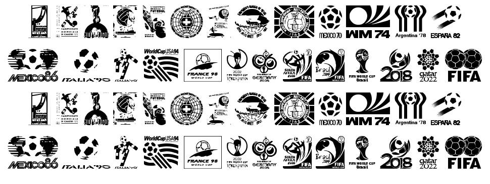 World Cup logos font