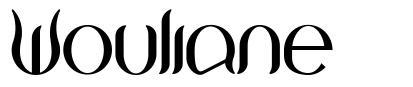 Wouliane font
