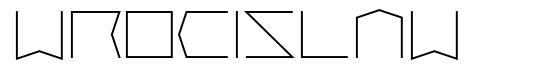 Wrocislaw 字形