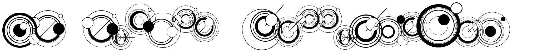 WS Simple Gallifreyan шрифт