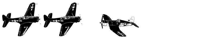 WW2 Aircraft font