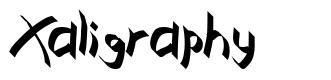 Xaligraphy fuente