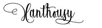 Xanthousy