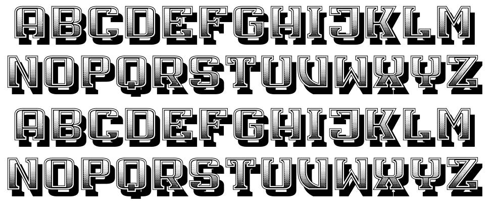 Xenon font