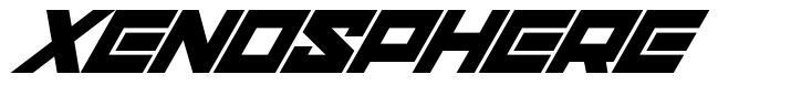 Xenosphere font