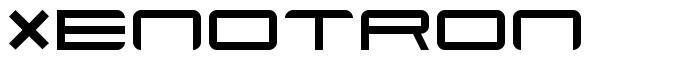 Xenotron font
