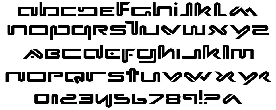 Xephyr font