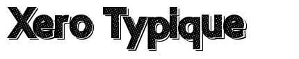 Xero Typique font