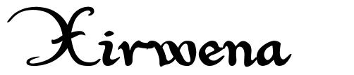 Xirwena font