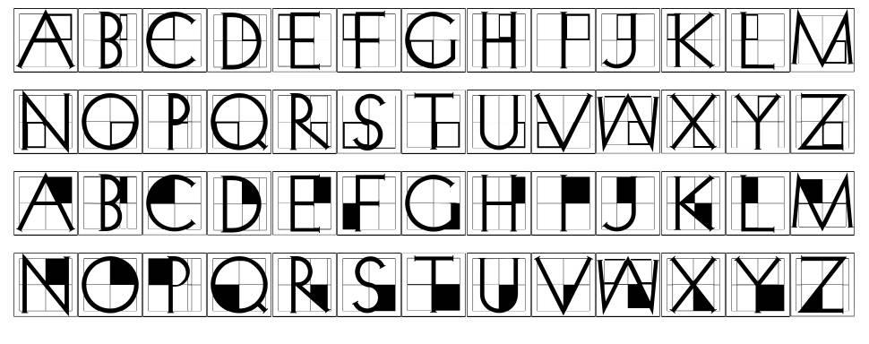 XperimentypoThree 字形