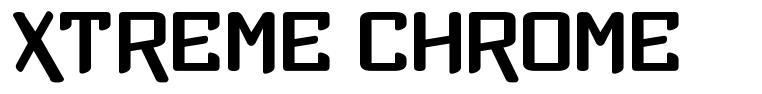 Xtreme Chrome шрифт