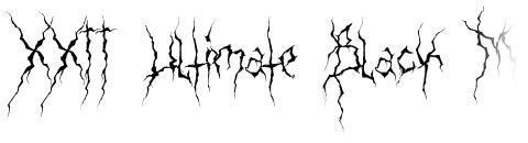 XXII Ultimate Black Metal