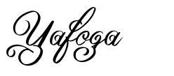 Yafoga font